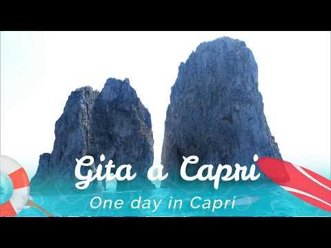 Gita a Capri Italia (One day in Capri, Capri Tours Italy)
