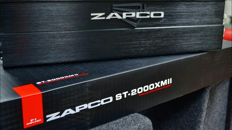 Краткий обзор к усилителю Zapco ST-2000XM II