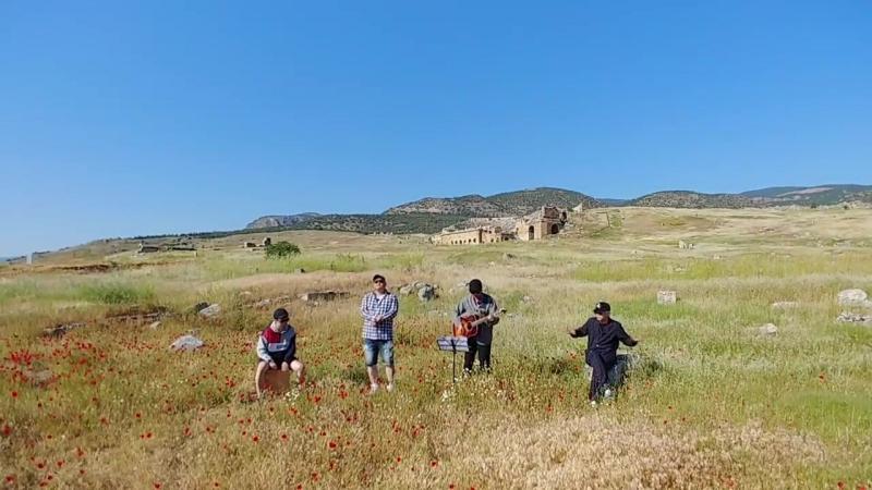 [7 день в Турции] Памуккале и древний город Иераполис в Турции COVER Ли Хон Ки , Юн ДонХён и Ха ХёнУ