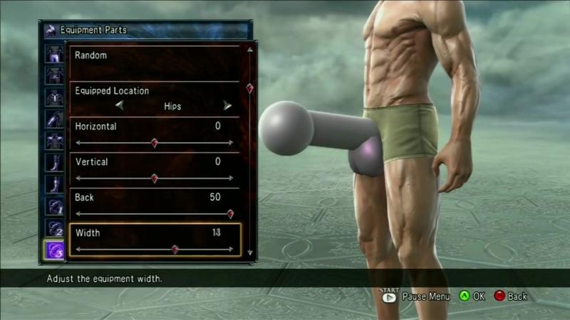 Soul Calibur 5 Tutorial - How to make a penis.mp4