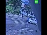 Ребенка сбили на пешеходном переходе
