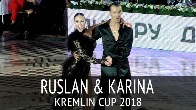 Ruslan Khisamutdinov Karina Yusupova | Cha-cha-cha | 2018 Kremlin Cup Amateur Latin - Final