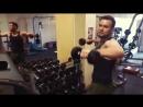 Супер упражнение на плечи Махи Молота