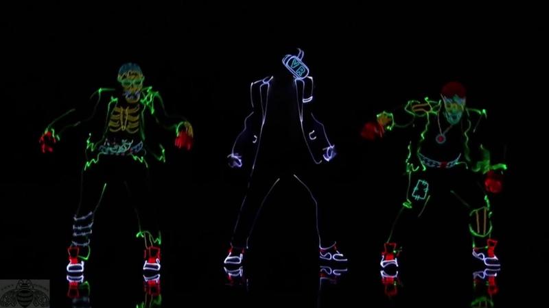 Самый невероятный танец в темноте