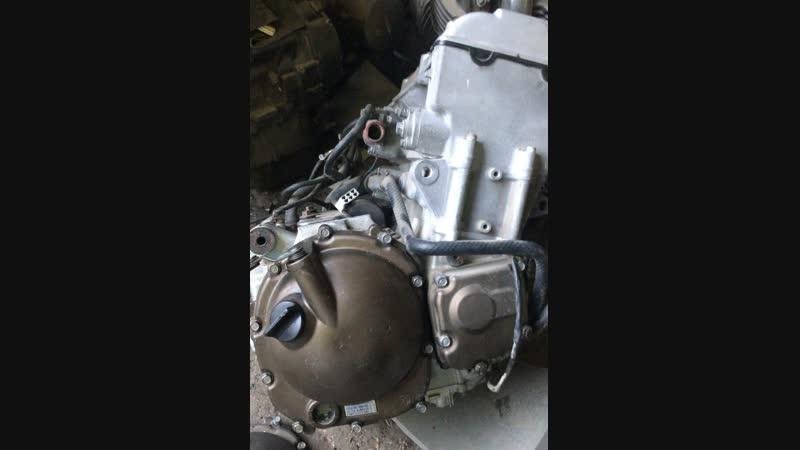 Проверка контрактного двигателя Kawasaki ZX9R (ZX900CE) перед отправкой клиенту | motod.ru