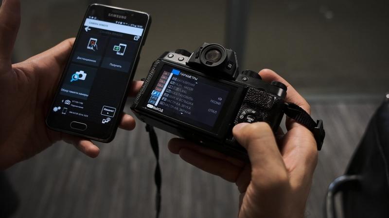 Передача изображений с камеры Fujifilm на смартфон » Freewka.com - Смотреть онлайн в хорощем качестве