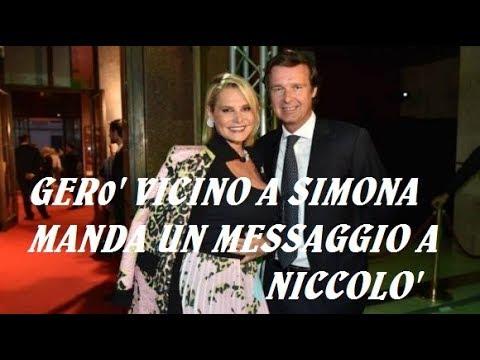 SIMONA VENTURA E NICCOLO' ARRIVA IL MESSAGGIO DEL SUO COMPAGNO GERO' CARRARO
