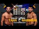 UFC FN 134 Khalid Taha vs. Nad Narimani