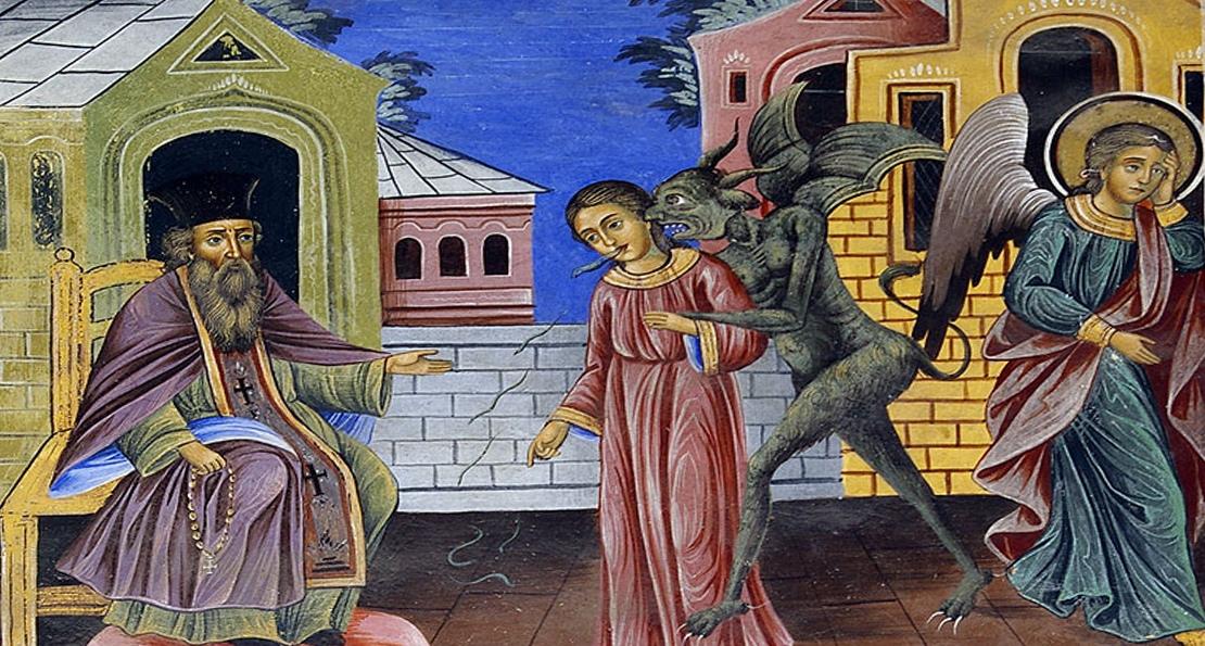 Отпущение грехов на фреске