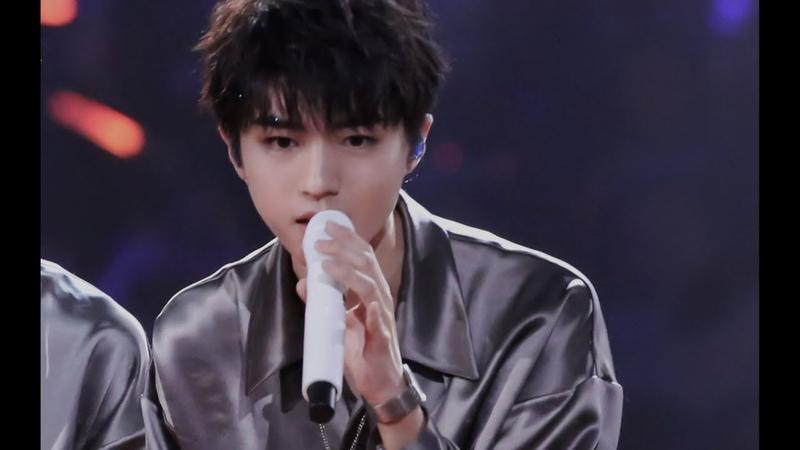 TFBOYS 王俊凱 TFBOYS 湖南衛視2019跨年晚會 《最好的那年》王俊凱focus Karry Wang Junkai
