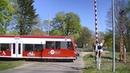 Spoorwegovergang Wutike D Railroad crossing Bahnübergang