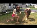 Yoga Challenge от девушек.