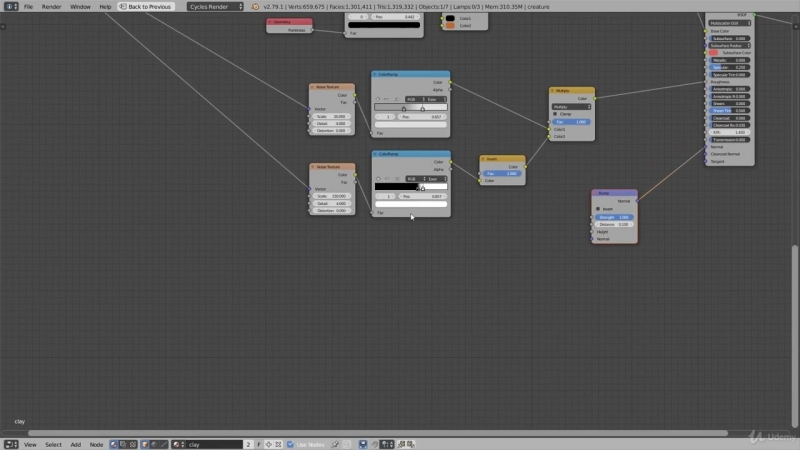 6. How to Create a Procedural Clay Shader