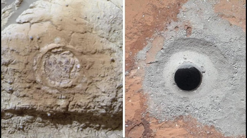 Таинственная находка под поверхностью Марса.Почему скрывают,что на Марсе есть жизнь.Великие тайны
