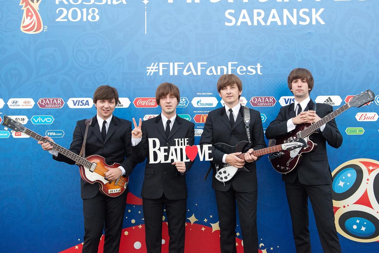 Группа The BeatLove выступит 26 августа 2018 в Краснобродском
