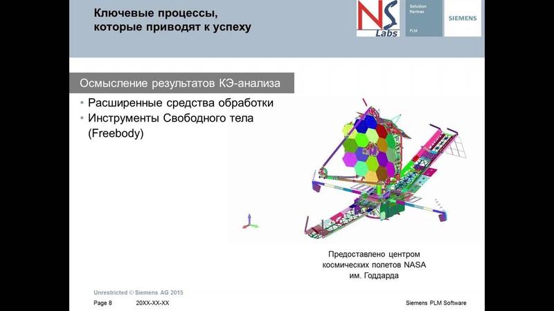 Анализ результатов КЭ расчетов в Femap