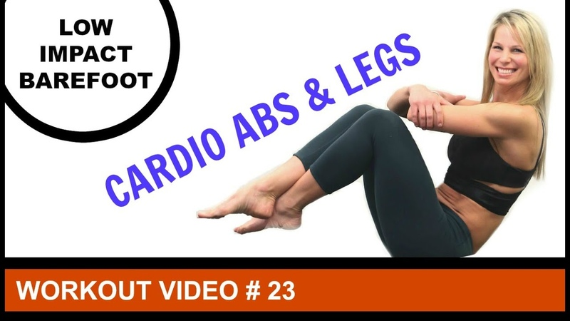 Low Impact Cardio Workout 30 Minutes | Legs Abs Fusion Workout