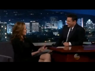Geena Davis on Jimmy Kimmel LIVE Nov  6th, 2014