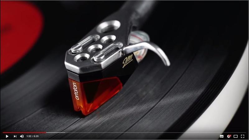 Модельный ряд звукоснимателей Ortofon 2M на примере модели 2M-Black