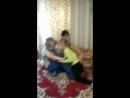 В Онеге 2018. Катюша и Владик играют.