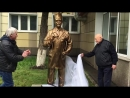Открытие памятника врачу в Новокузнецке
