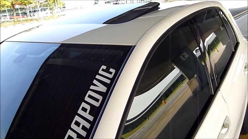 Golf MK6 With Akrapovic Exhaust