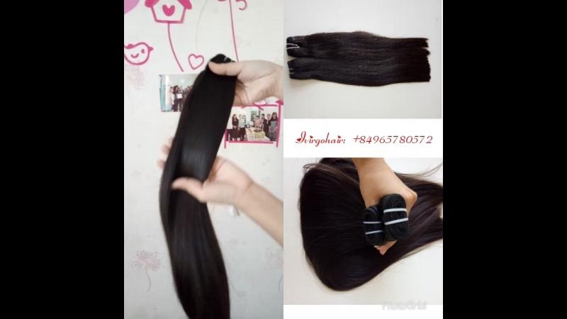 18 virgin hair from a head