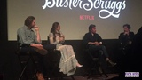 'THE BALLAD OF BUSTER SCRUGGS' Q&ampA with Zoe Kazan and Tim Blake Nelson