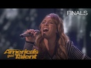 Glennis Grace: Incredible Singer Serenades Judges With Run Snow Patrol - America's Got Talent 2018