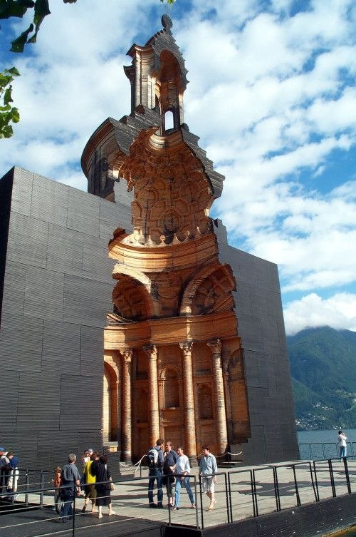 Mario Botta - Wooden Model of Borromini's Church of San Carlo alle Quattro Fontane in Rome