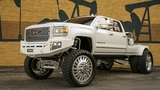 HOW A SEMA DENALI WELDING RIG WAS BUILT! 12 INCH CHROME LIFT WITH 28S ON 42S CHOPPED WELDER!