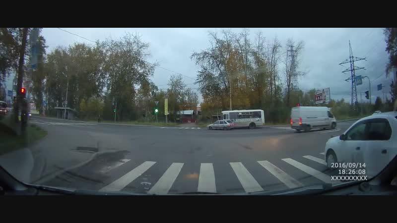 Архангельск. Кто по-вашему виноват в ДТП