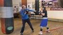 Бокс: ножной эспандер для отработки двойки