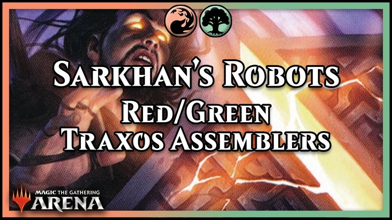 Sarkhan's Unsealed Robots | Traxos Assemblers!