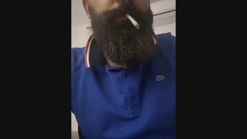 Beard and pot
