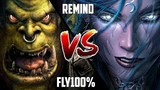 WC3 Fly100 (Orc) vs. ReMinD (Night Elf) BlizzCon 2010 G1 Warcraft 3