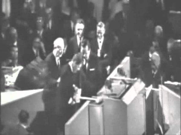 RFK at 1964 DEMOCRATIC CONVENTION «QCzAR»