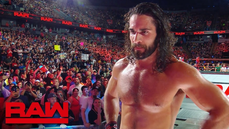 Seth Rollins exits the arena after losing the Intercontinental Title: Raw Exclusive, June 18, 2018