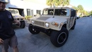 1994 Am General Humvee RedDot A C Street Legal walk around