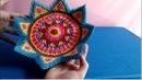 How to make a dish by 3d origami paper - Hướng dẫn làm cái đĩa bằng giấy xếp origami 3d