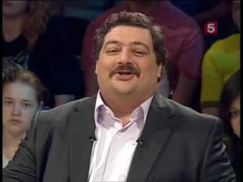 Дмитрий Быков КАРТИНА МАСЛОМ Гены и злодейство (2010 год, ТВ-Петербург)