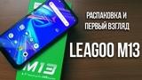 LEAGOO M13 - распаковка на русском от канала Meduza China Gadget