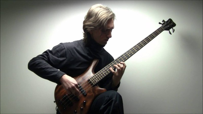 J.S.Bach, Cello Suite 1, prelude - Mario D´Amato, bass guitar