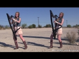 HOTEL CALIFORNIA (Eagles) COVER, Harp Twins - Camille and Kennerly HARP ROCK