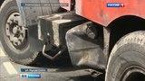 Вести-Москва На северо-востоке Москвы мусоровоз столкнулся с легковым фургоном