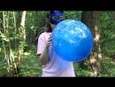 Blowing and deflating custom