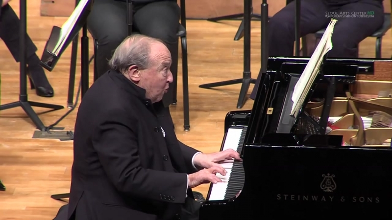 Менахем Пресслер W. A. Mozart Piano Concerto No.17 in G Major