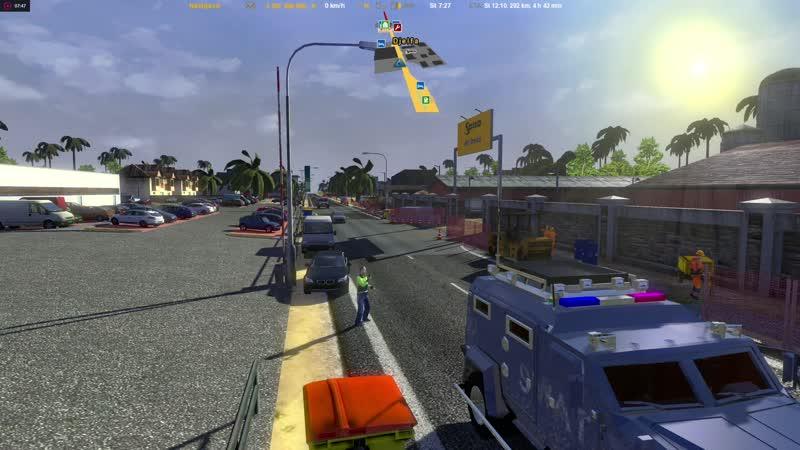 Euro Truck Simulator 2.v.1.16.2(City - Djelfa-EuropeAfrica Mario Map.v.10.2)29.10.2018.
