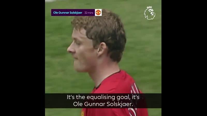 Il y a 16 ans Manchester United simposait 6 2 à Newcastle grâce notamment à un triplé de Paul Scholes MUFC