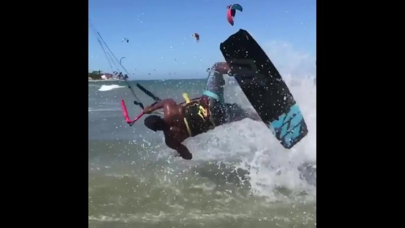 Kite stunt